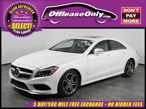 2015 Mercedes-Benz CLS for sale in Orlando, FL