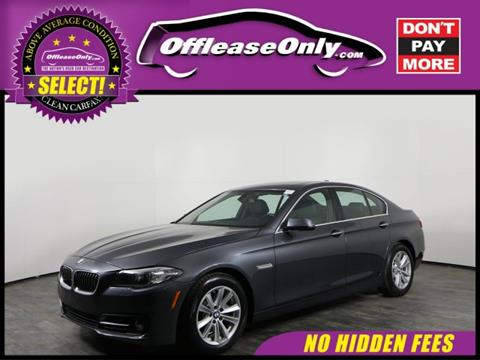 2016 BMW 5 Series for sale in Orlando, FL