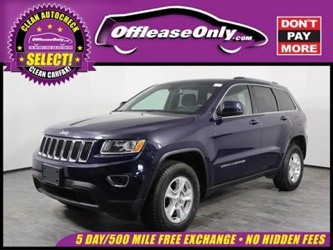 2016 Jeep Grand Cherokee for sale in Orlando, FL