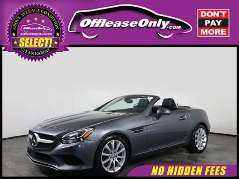 2017 Mercedes-Benz SLC for sale in Orlando, FL