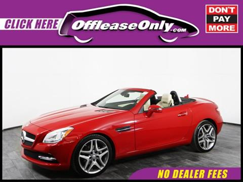 2015 Mercedes-Benz SLK for sale in Orlando, FL
