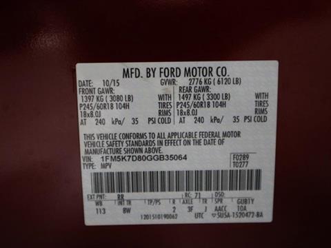 2016 Ford Explorer for sale in Orlando, FL