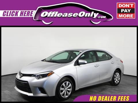 2016 Toyota Corolla for sale in Orlando, FL
