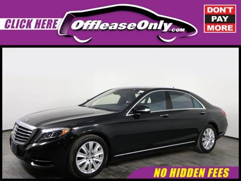 2015 Mercedes-Benz S-Class for sale in Orlando, FL
