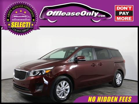 2017 Kia Sedona for sale in Orlando, FL