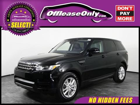2017 Land Rover Range Rover Sport for sale in Orlando, FL