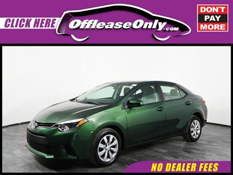 2014 Toyota Corolla for sale in Orlando, FL