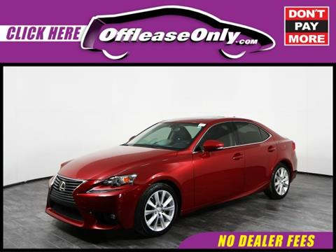 2015 Lexus IS 250 for sale in Orlando, FL