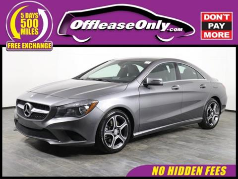 2014 Mercedes Benz CLA For Sale In Orlando, FL