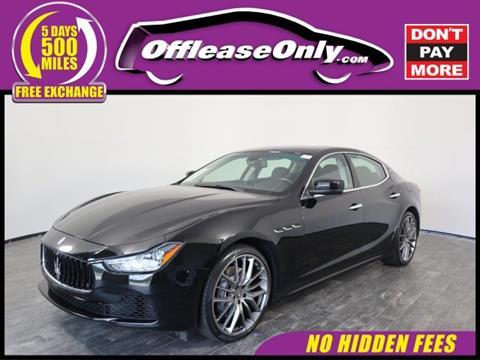 2015 Maserati Ghibli for sale in Orlando, FL