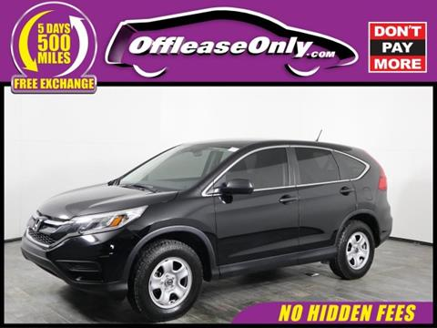 2015 Honda CR-V for sale in Orlando, FL