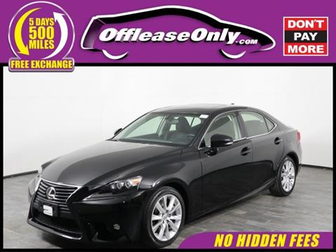 2016 Lexus IS 300 For Sale In Orlando, FL