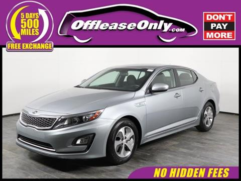 Captivating 2016 Kia Optima Hybrid For Sale In Orlando, FL