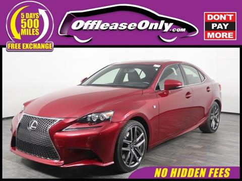 Lexus Is 350 For Sale In Canton Ma Carsforsale Com