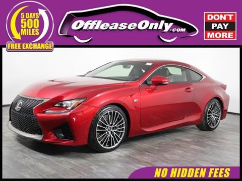 Lexus Rc F For Sale Carsforsale Com