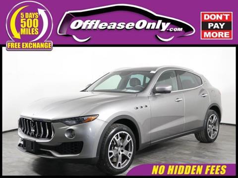 2017 Maserati Levante for sale in Orlando, FL
