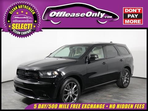 2017 Dodge Durango for sale in Orlando, FL
