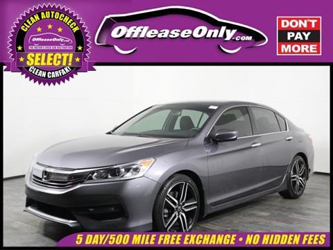 2016 Honda Accord for sale in Orlando, FL