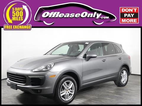 2017 Porsche Cayenne for sale in Orlando, FL