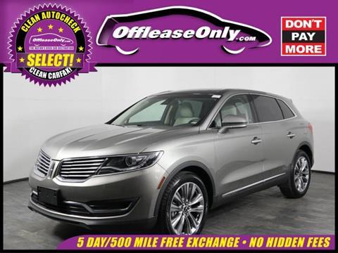 2016 Lincoln MKX for sale in Orlando, FL