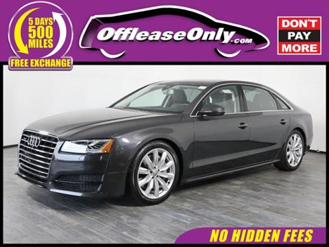 2010 Audi A8 For Sale In Florida