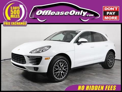 2017 Porsche Macan for sale in Orlando, FL