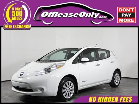 2016 Nissan LEAF for sale in Orlando, FL