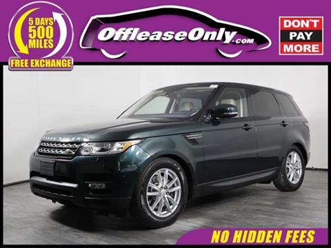 2016 Land Rover Range Rover Sport for sale in Orlando, FL