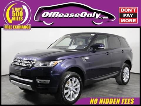 2016 Land Rover Range Rover Sport for sale in Orlando, FL