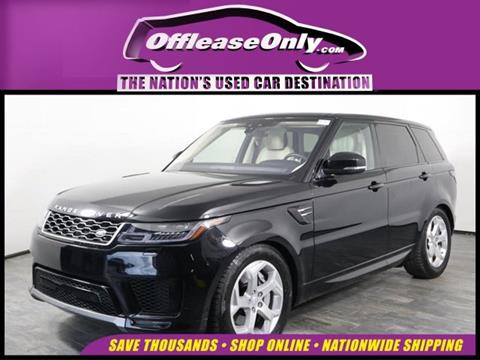 2019 Land Rover Range Rover Sport for sale in Orlando, FL
