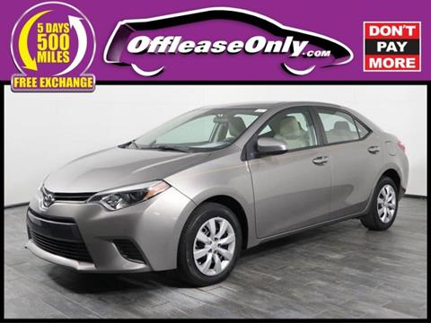 2016 Toyota Corolla for sale in Orlando, FL