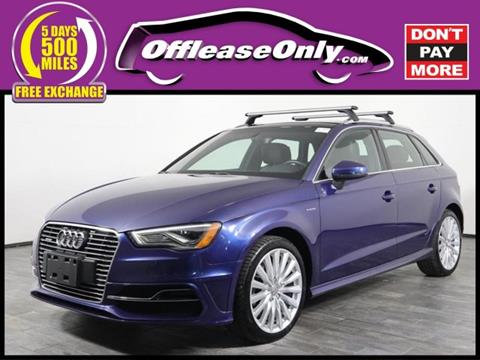 2016 Audi A3 Sportback E Tron For Sale In Orlando Fl