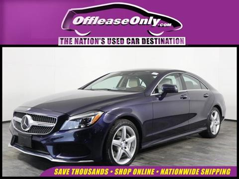 2016 Mercedes-Benz CLS for sale in Orlando, FL