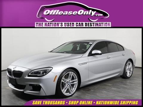 Used Bmw 6 Series >> 2016 Bmw 6 Series For Sale In Orlando Fl