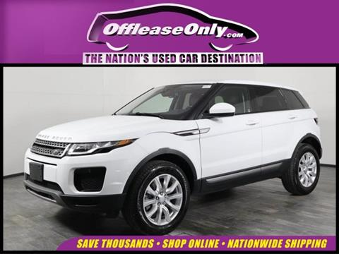 2019 Land Rover Range Rover Evoque for sale in Orlando, FL