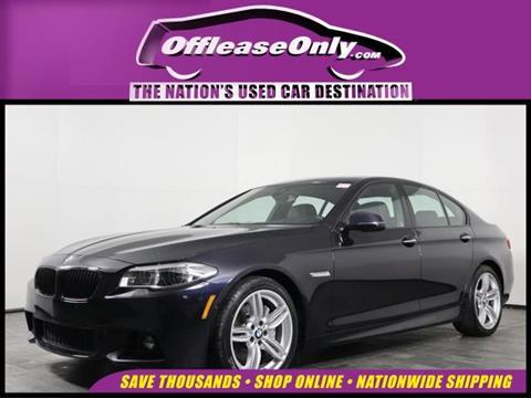 2016 BMW 5 Series for sale in Orlando, FL