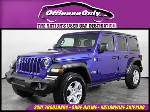 2019 Jeep Wrangler Unlimited for sale in Orlando, FL