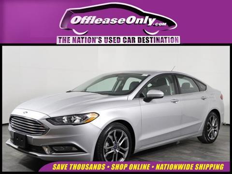 2017 Ford Fusion for sale in Orlando, FL