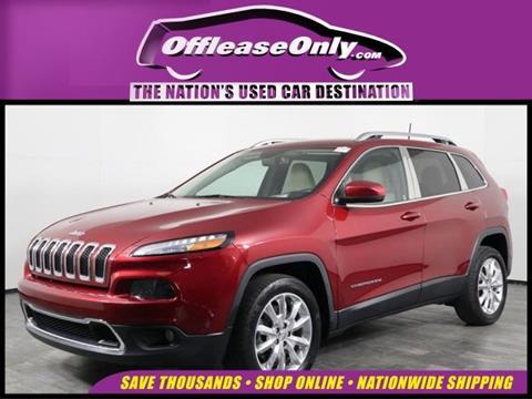 2017 Jeep Cherokee for sale in Orlando, FL