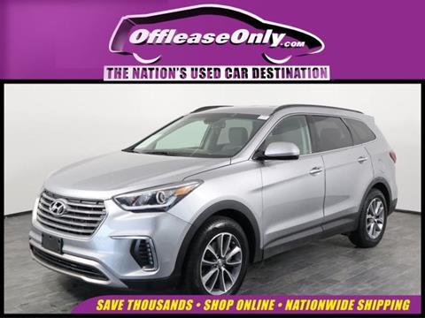 2017 Hyundai Santa Fe for sale in Orlando, FL