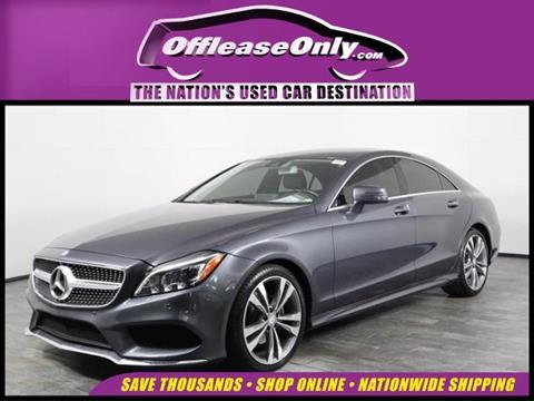 2016 Mercedes-Benz CLS for sale in Orlando, FL