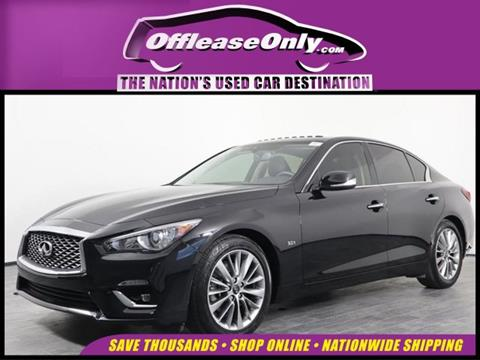 2018 Infiniti Q50 for sale in Orlando, FL