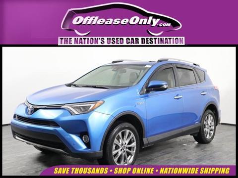2016 Toyota RAV4 Hybrid for sale in Orlando, FL