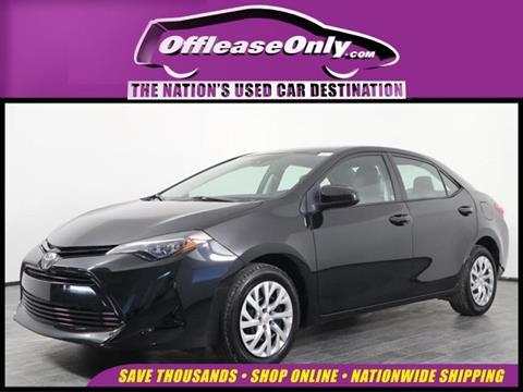 2018 Toyota Corolla for sale in Orlando, FL