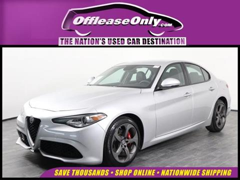 2017 Alfa Romeo Giulia for sale in Orlando, FL