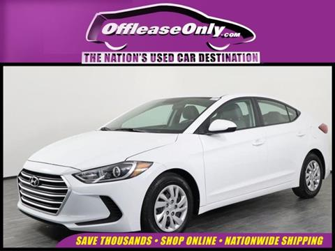 2017 Hyundai Elantra for sale in Orlando, FL