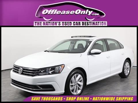 2018 Volkswagen Passat for sale in Orlando, FL