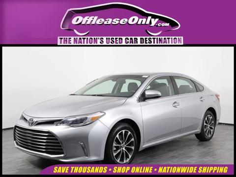 2018 Toyota Avalon for sale in Orlando, FL