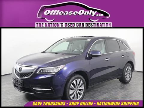 2016 Acura MDX for sale in Orlando, FL