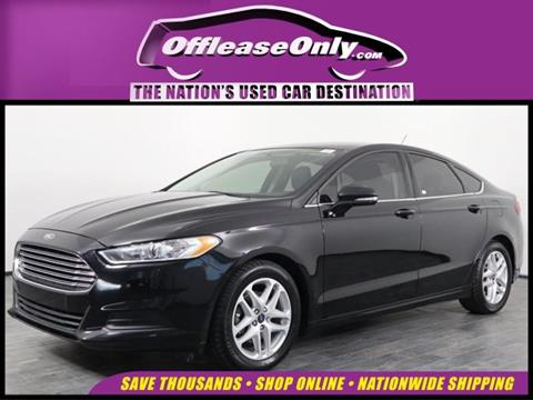 2016 Ford Fusion for sale in Orlando, FL